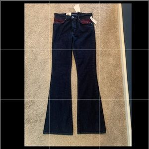 Anthropologie flair jeans